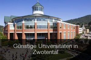 Günstige Universitäten in Zwotental