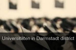 Universitäten in Darmstadt district