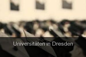 Universitäten in Dresden