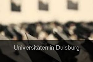 Universitäten in Duisburg